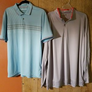 Adidas polo and pullover men's size XXL